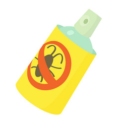 Insecticide spray icon cartoon style vector