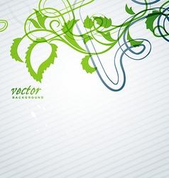stylish background vector image