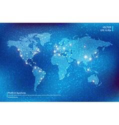 World map background vector