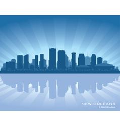 New Orleans Louisiana skylin vector image vector image