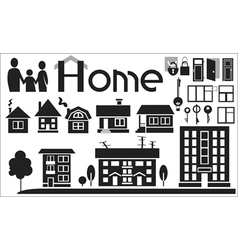 home vector image vector image