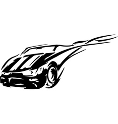 Race car - vector image vector image