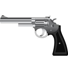 revolver vector image