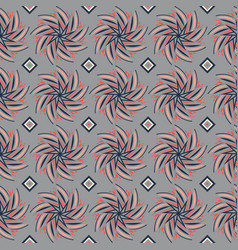 seamless pattern with ornaments vector image