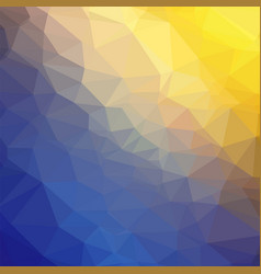 abstract colorful geometric ornamental vector image