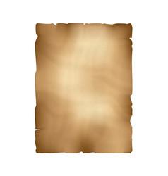 Ancient parchment old papyrus craft paper vector