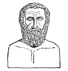 Archilochus vintage vector