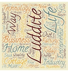 Back To Home Business text background wordcloud vector image