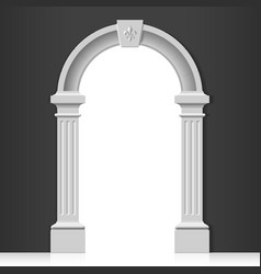 Classic arch vector