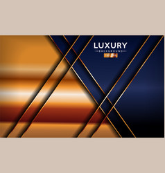 Luxurious premium navy blue abstract background vector