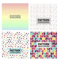 Minimal covers design colorful halftone gradients vector