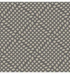 Ornate pebbles print vector
