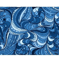 seamless background of doodle drawn lines vector image