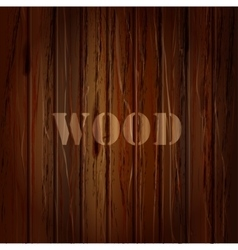 wood texture background with text vector image
