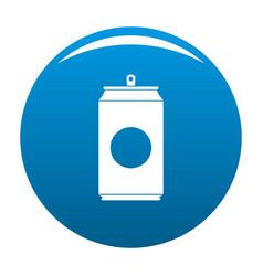 soda icon blue vector image