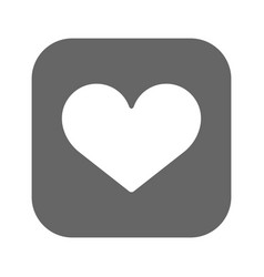 heart icon best flat icon eps vector image vector image