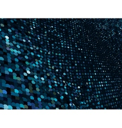 Abstract dot blue mosaic background EPS 8 vector image