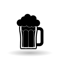 beer design over white background vector image