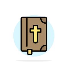 Book bible easter holiday abstract circle vector