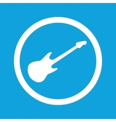 Guitar sign icon vector
