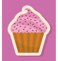 Homemade dessert graphic vector