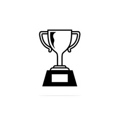 Trophy icon concept for design vector
