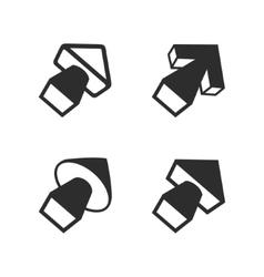Volume arrows pointers set vector