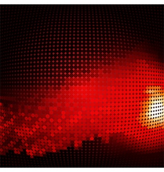 abstract background with halftone vector image vector image