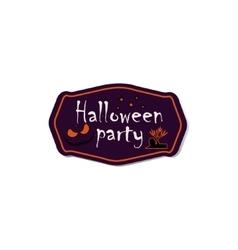 Halloween symbols and attributes vector image vector image