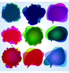 speech bubbles original illustration vector image vector image