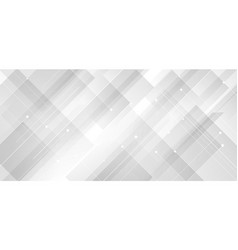 Abstract background modern technology white vector