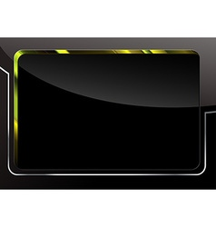 Black Glossy Background vector