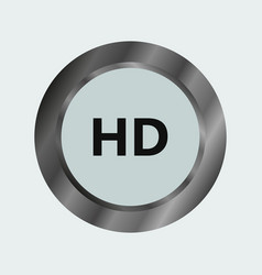 hd icon vector image