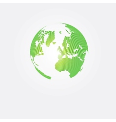 Save planet abstract concept design vector image