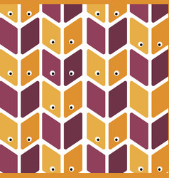 Seamless pattern with eye perfect for wallpapers vector