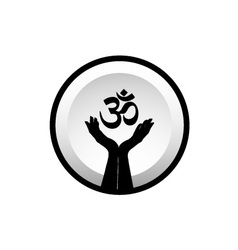 Symbol of Hinduism vector image