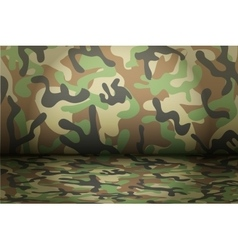 Woodland Camouflage background vector image