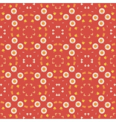 Abstract pattern of coffee paraphernalia vector image
