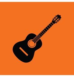 Acoustic guitar icon vector image vector image