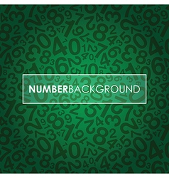 green number background vector image vector image