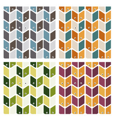 big collection patterns on different topics vector image