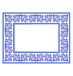 Ceramic frame vector