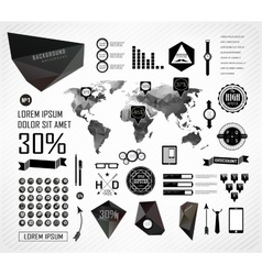 Elements of info graphics vector