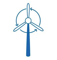 Fan icon image vector