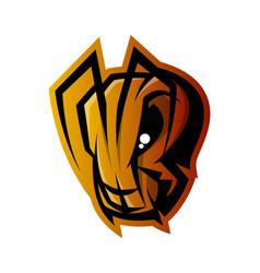 furious ant head sport logo concept vector image