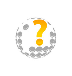 Golf expert vector