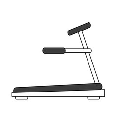 gym machines flat vector image