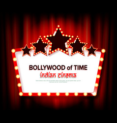 indian bollywood cinema vector image
