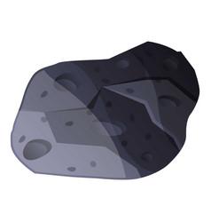 Meteorite icon cartoon style vector