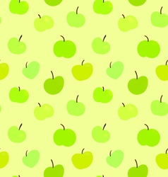 Seamless Pattern Apples EPS10 vector image vector image